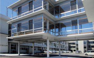 高知県立須崎総合高等学校 渡り廊下